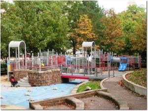 Bushnell Park Playground in Hartford.  Photo credit: www.amybergquist.com