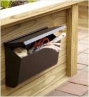 Outdoor mailbox! Photo Credit: http://www.buzzfeed.com/peggy/easy-backyard-diys?sub=2496210_2842417#.fuG4B2M4x